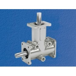 bevel gearbox - stainless steel