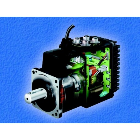 Servo motor 230 VAC with integrated controller